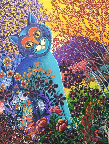 Artist Anita Skinner - Oceanside Art Gallery