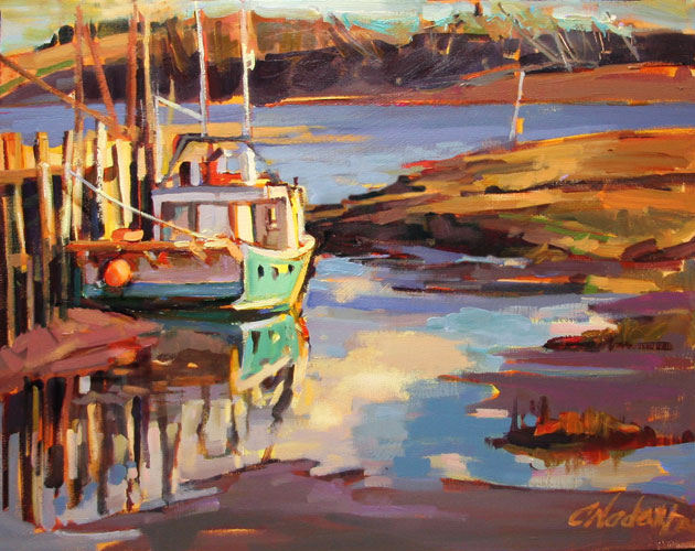 Artist Christine Nadeau - Oceanside Art Gallery