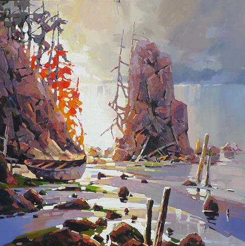 Artist Bi Yuan Cheng - Oceanside Art Gallery