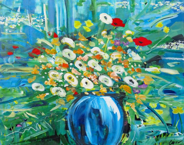Floral Artist Cisco - Oceanside Art Gallery