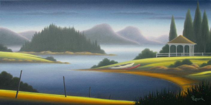 Artist Raymond Quenneville - Oceanside Art Gallery