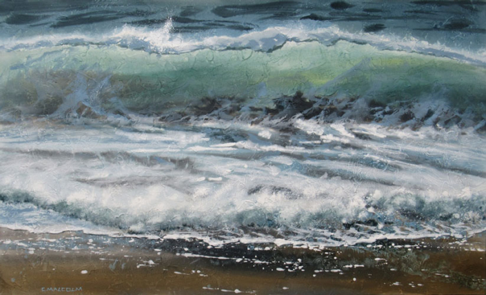 Artist Carole Malcolm - Oceanside Art Gallery