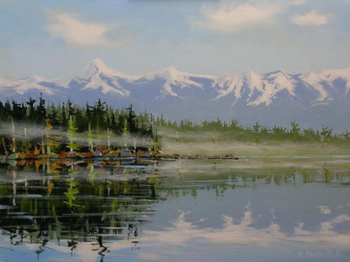 Artist Allan Dunfield - Oceanside Art Gallery