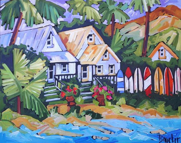 Artist Marie Claude Boucher - Oceanside Art Gallery
