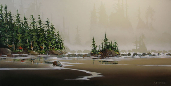 Artist Allan Dunfield - Oceanside Art Gallery