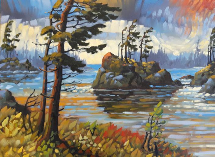 Artist Rod Charlesworth - Oceanside Art Gallery