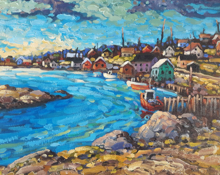 Artist Rod Charlesworth - Oceanside Art Gallery