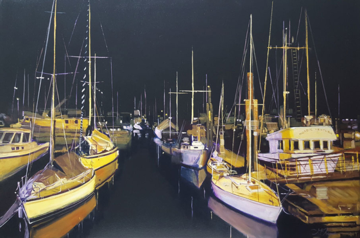 Artist Grace Shaw - Oceanside Art Gallery