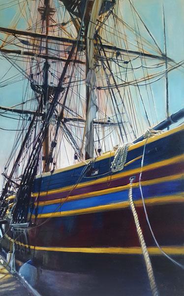 Artist Grace Shaw - Oceanside Art Gallery