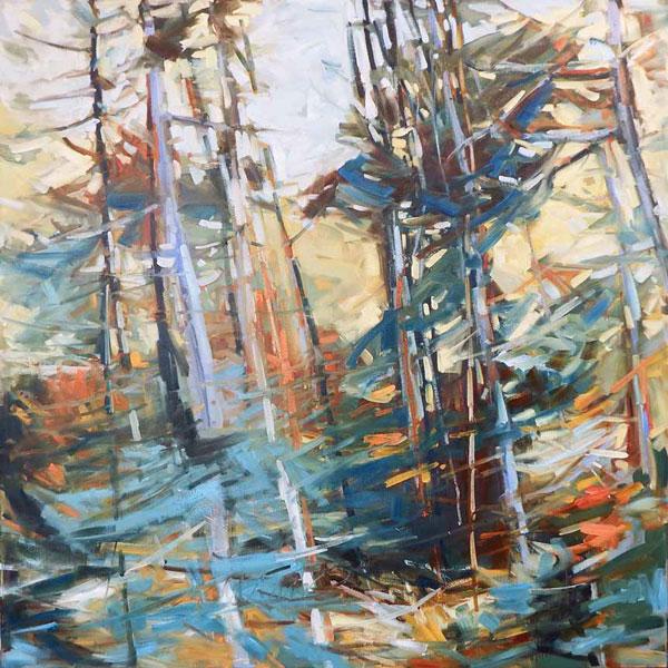 Artist Sheila Davis - Oceanside Art Gallery
