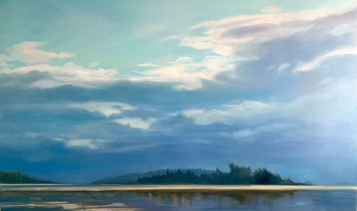 Artist Elzbieta Krawecka - Oceanside Art Gallery